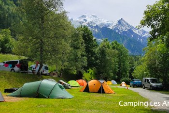 法國露營。霞慕尼唯一市區營地Camping Les Arolles