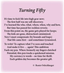 Turning-Fifty, new leaf, distractions, aging, self-discovery, sonnet, poem