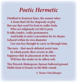 sonnet, poesy, sonnet form, iambic pentameter, sestet, Petrarch, Shakespeare, Spenser, little sound, poem