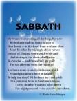 Sabbath, rest, insomnia, fatigue, light verse, sonnet, poetry, poem