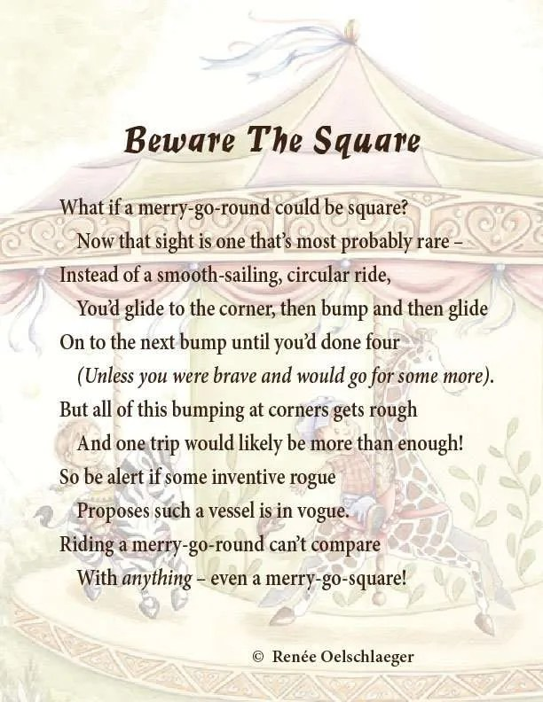 Beware-The-Square, merry-go-round, merry-go-square, poetry, light verse, poem