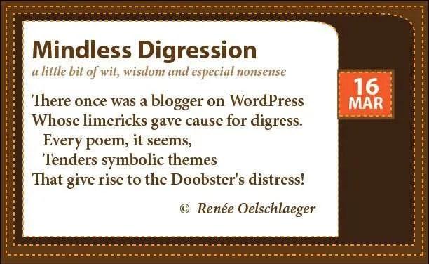 Doobster-Limerick, doobster, limerick, WordPress, poem, poetry, light verse