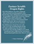 Eustace-Scrubb, dragon, Narnia, Aslan, sonnet, poetry, poem