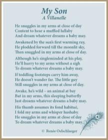 My-Son, mothering, sons, babies, light verse, poetry, poem, villanelle