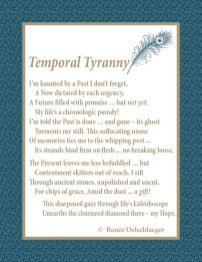 Temporal-Tyranny, past, present, future, memories, hope, sonnet, poetry, poem