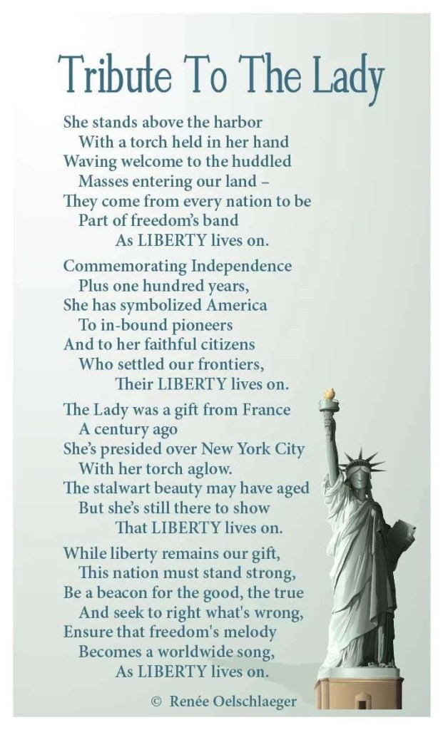 statue of liberty, liberty, New York City, Independence, poetry, poem