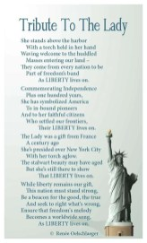 Tribute-To-The-Lady, liberty, statue of liberty, freedom, New York harbor, poetry, patriotism, poem, Independence