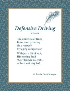 Defensive Driving, a Jaleen