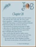 Job Chapter 28