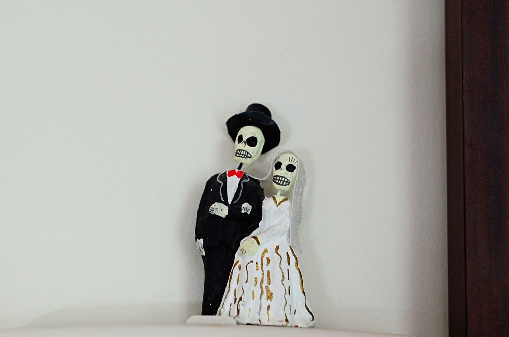 Halloween Day of the Dead Couple