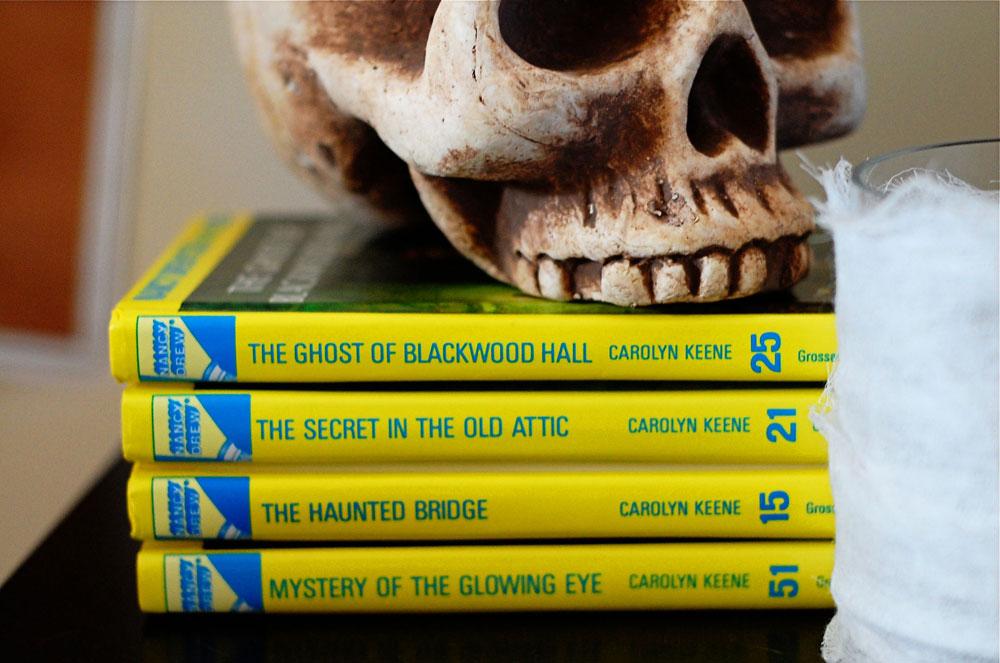 Halloween Decor Nancy Drews
