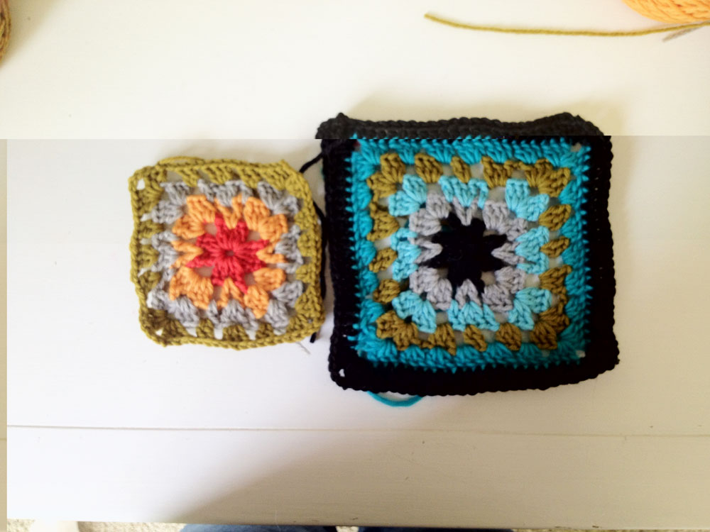 Granny Square Sampler