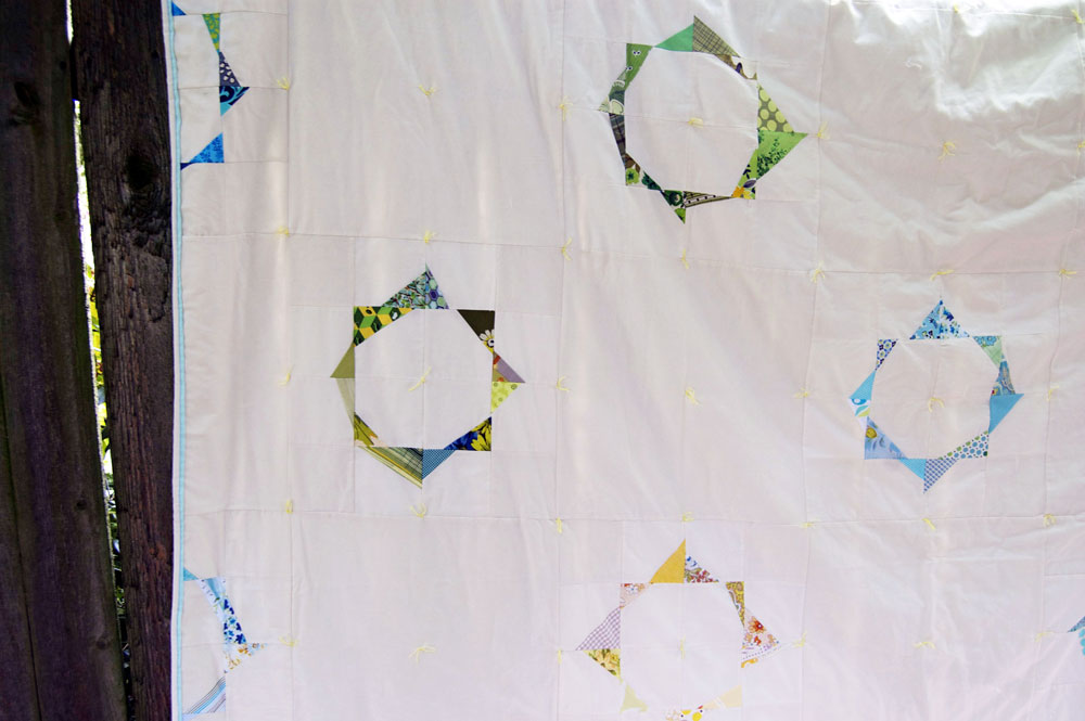 Fractured Circles Quilt