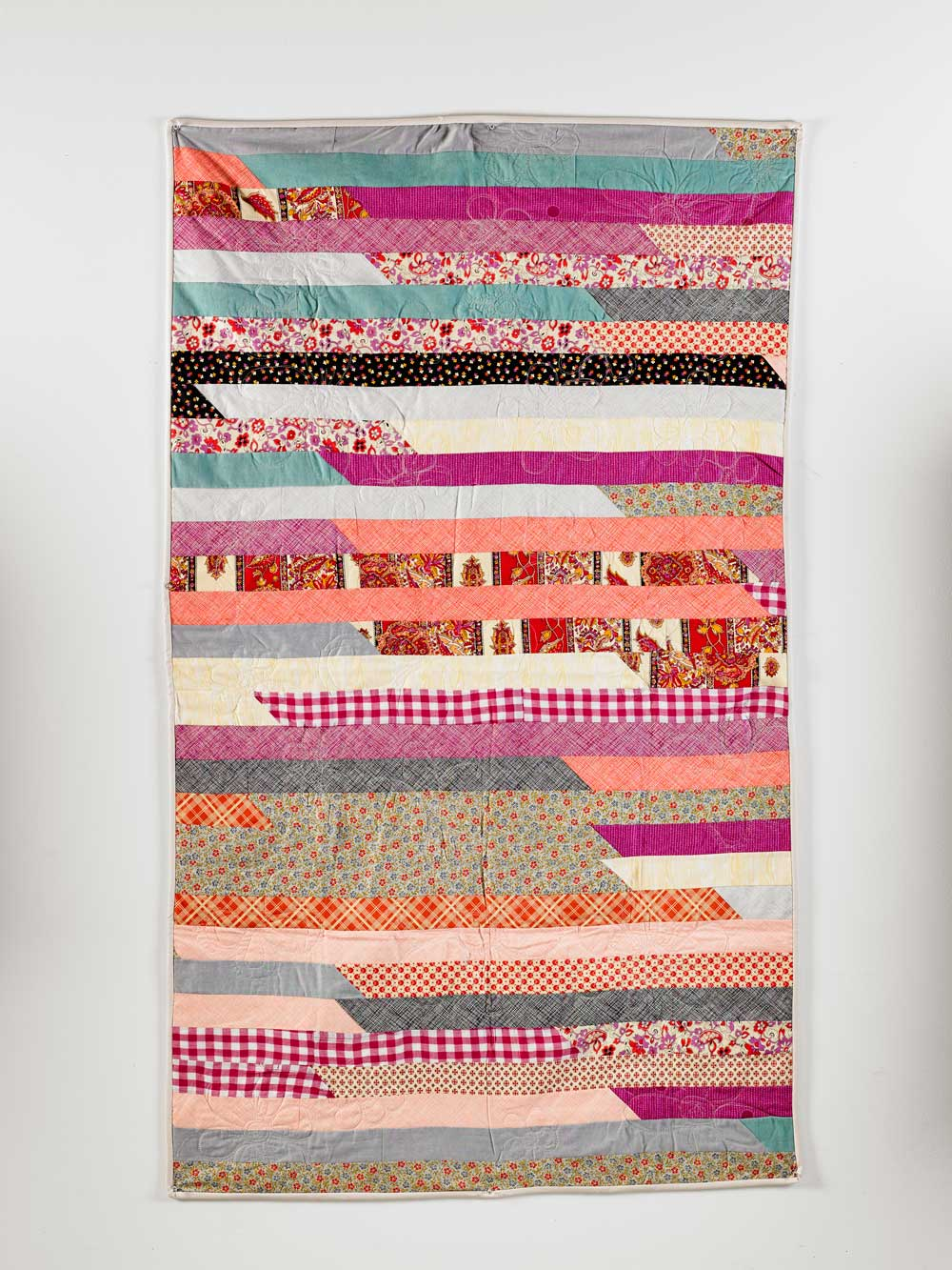 How To Sew A Jelly Roll Race Quilt Wise Craft Handmade