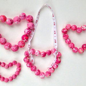 Marbled Bead Valentines