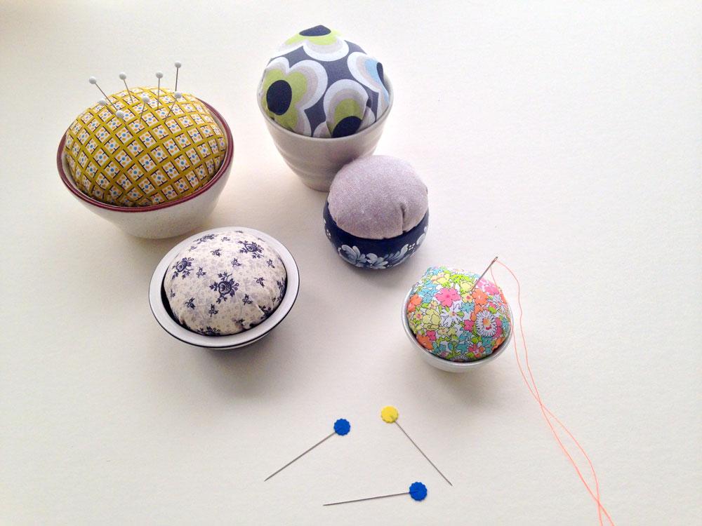 DIY pincushions by Wise Craft at Creativebug