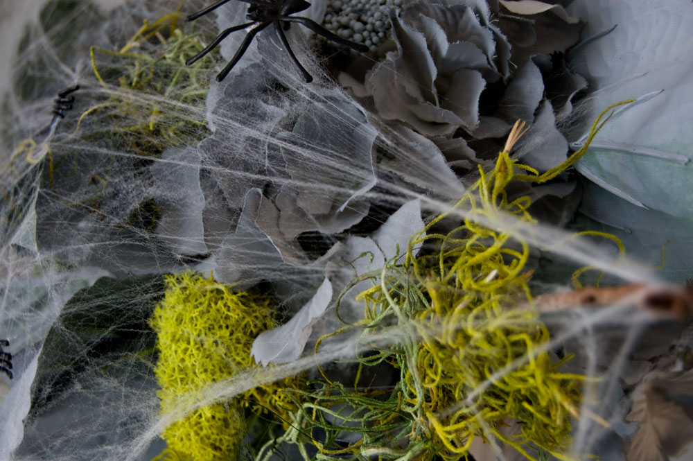 Decayed Halloween Flowers