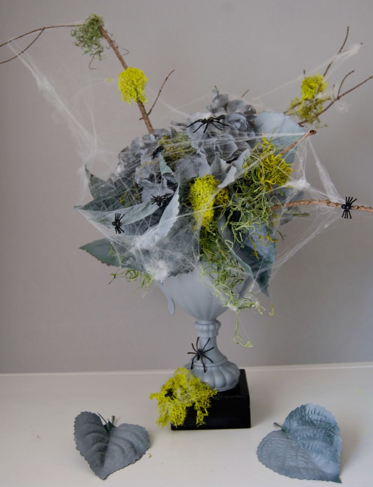 Decayed Halloween Flowers