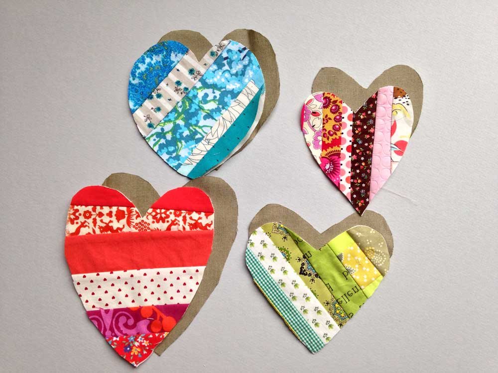 Scrappy Heart DIY Valentine