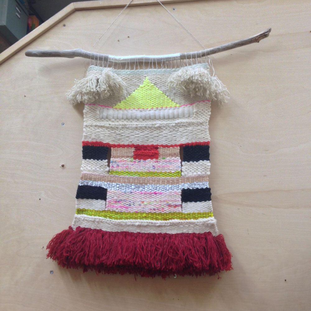 weaving example at Wise craft Handmade
