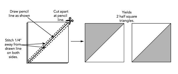 half square triangle