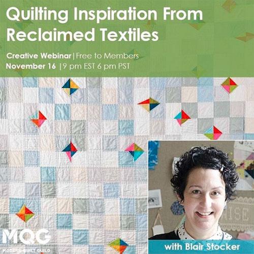 Modern Quilt Guild Webinar