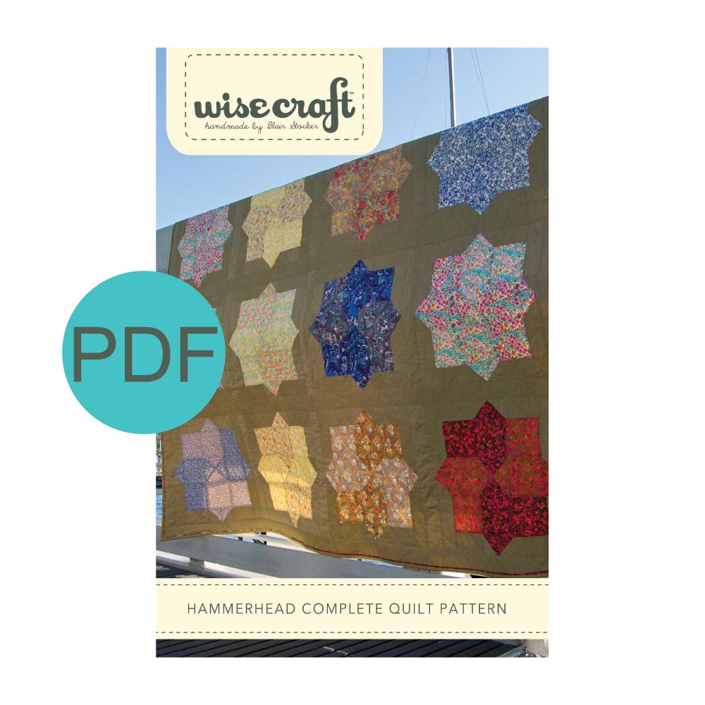 Wise Craft Handmade Hammerhead Quilt Pattern