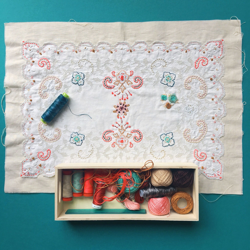 Wabi Sabi Embroidery