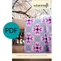 Flower Stamps Quilt