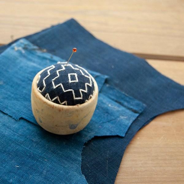 sashiko pincushion 5