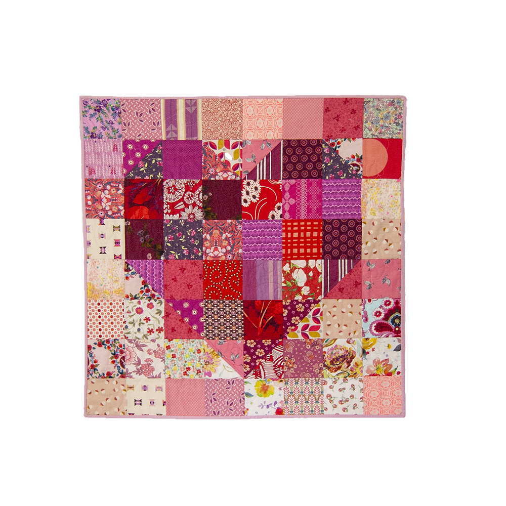 Love is Scrappy Mini Quilt