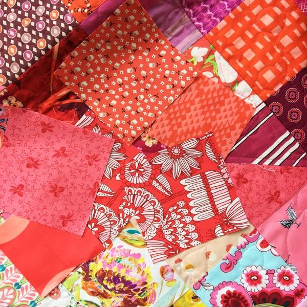Love is Scrappy Scrap Bag kits
