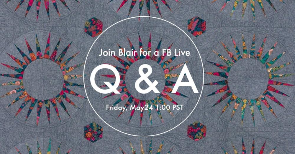 Live Q & A