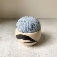 Porcelain handmade pincushion