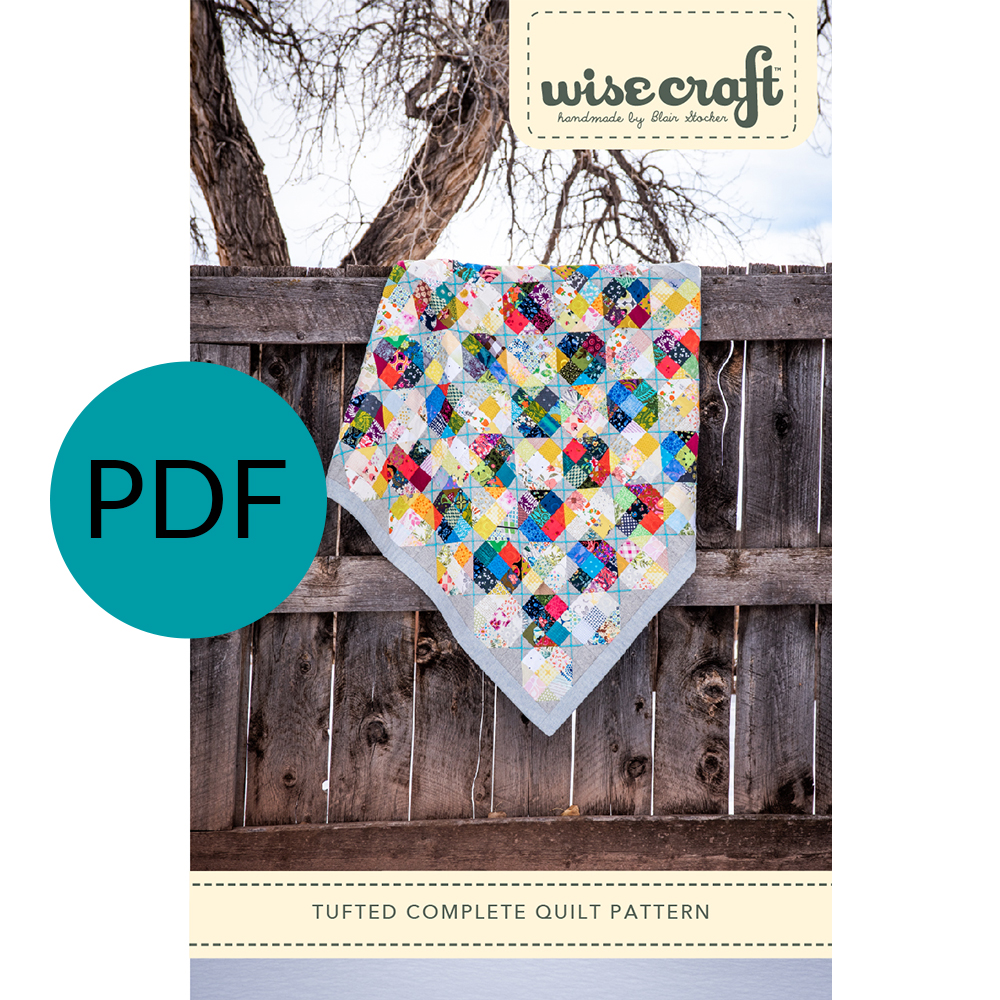 Tufted Quilt Pattern