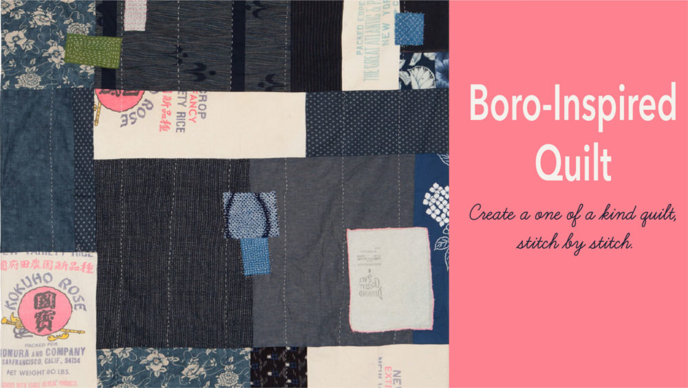 Boro Inspired Quilt online class