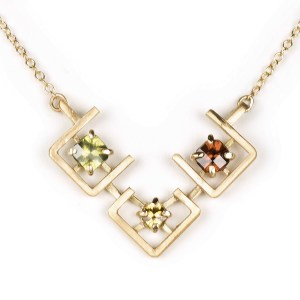 Earth pendant cropped trio