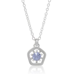 Hope simple pendant - lilac cropped