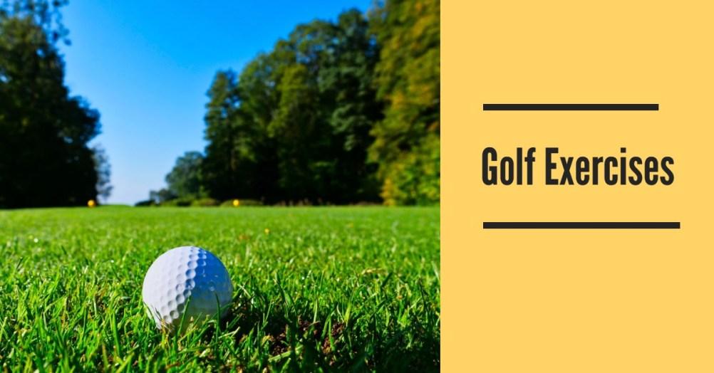 Golf Exercises for fitness