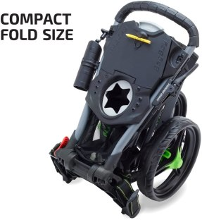 TriSwivel II push cart compact size