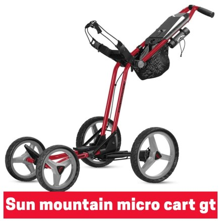 Sun mountain micro cart gt
