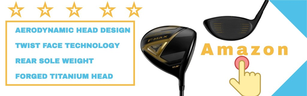 The Cobra f-max driver wow look