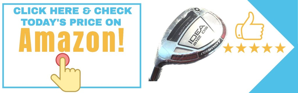 Adams Idea a12OS irons have engineered to provide your faster ball speed and distance.