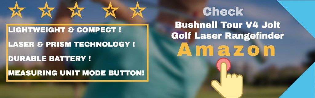 Bushnell tour v4 jolt golf laser rangefinder is a solid entertainer and golf buddy into the course