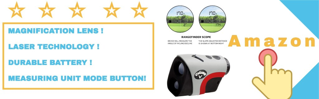 golf rangefinder with slope