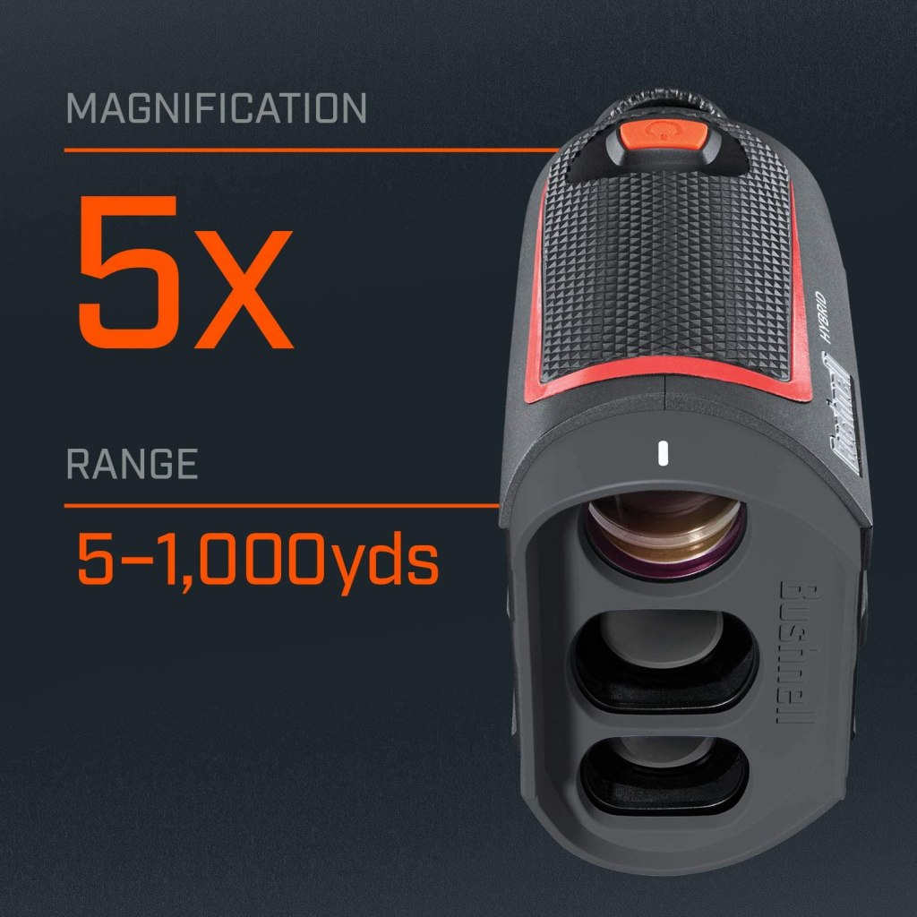Bushnell Hybrid could be a slightly improved on GPS yardages