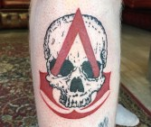 assassins creed black flags tattoo