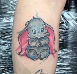 Painty Dumbo Disney piece