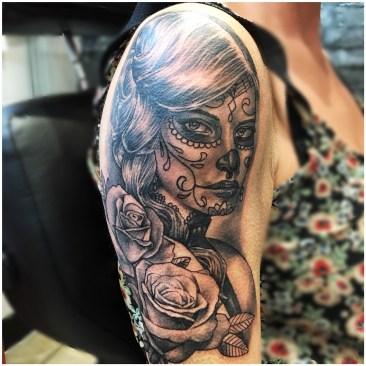 Dia de Los muertos lady