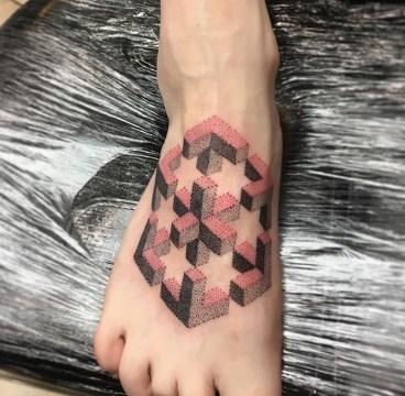 Dotwork Geometric piece
